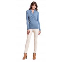 Блузка с запахом Ralph Lauren